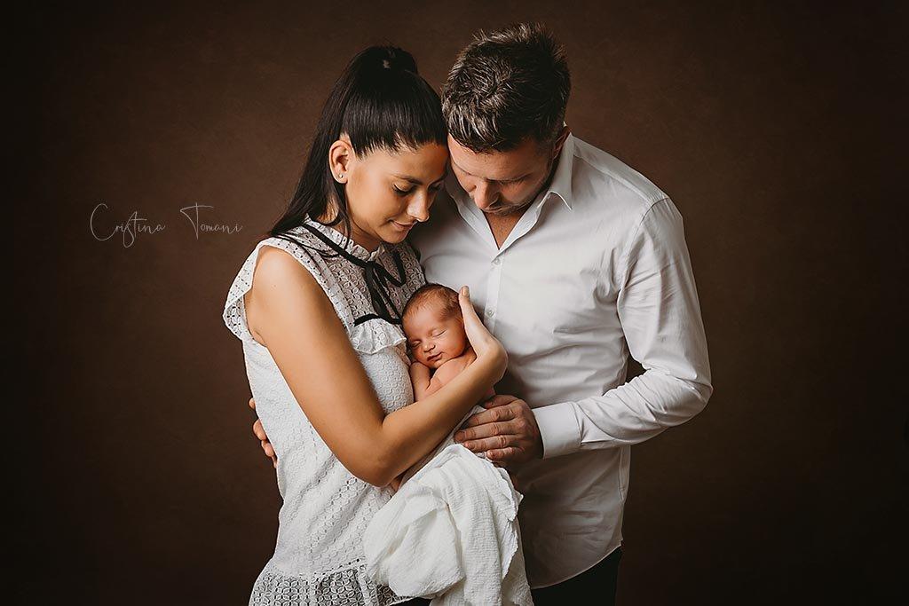 Sedinta foto newborn, micutul Ianis